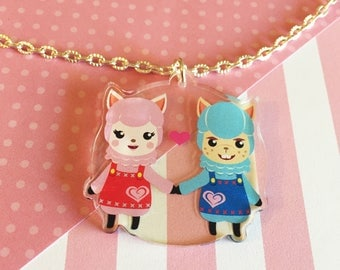 LAST CHANCE!!! Welcome to Retail |Animal Crossing | Acrylic Necklace