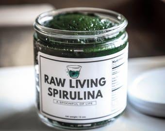 Raw Living Spirulina Supreme