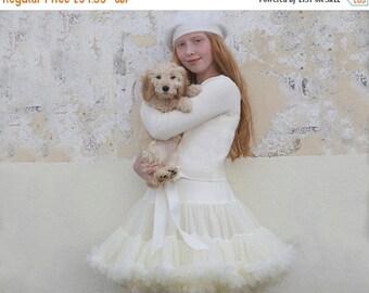 Ivory Cream Girls & Baby Tutu Pettiskirt