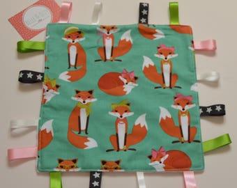Miss Fox Taggy, Fox Taggie, Fox Comforter