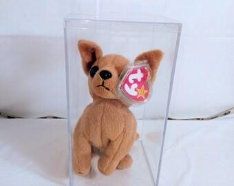 TY Beanie Baby - TINY the Chihuahua Dog -1998