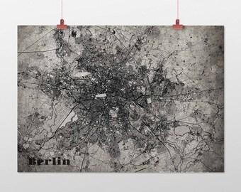 Berlin - A4 / A3 - print - OldSchool