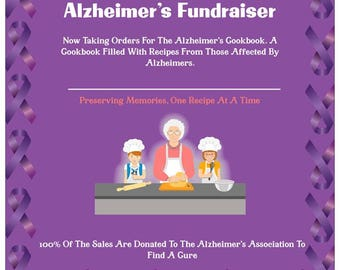 Alzheimer's Cookbook/ Fundraising For A Cure