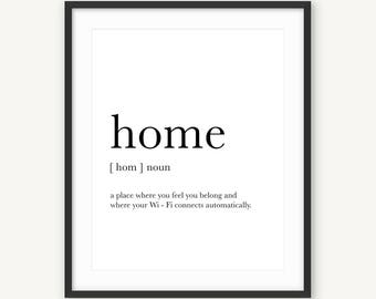 Prints miuus studio on etsy handmade hunt for Modern house definition