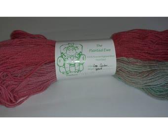 Love Garden Sport Weight Hand Dyed Yarn Custom Color Pattern 100g Skein