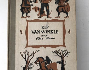 Vintage Rip van Winkle and Other Stories Book