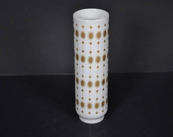 Hutschenreuther Selb  gold  pattern porcelain vase - Germany