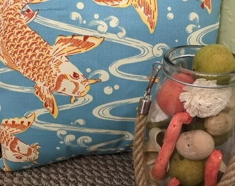 Koi Fish Pillow
