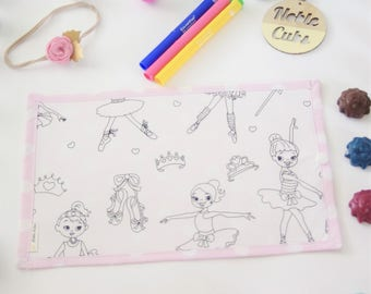 Colouring Mat Add on - Ballet