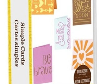 Simple Cards Cricut Cartridge