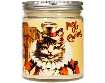 Cat lover Gift, Cat Soy Candle, Scented Candle, Kitty Candle, Container Candle, Soy Candle, Cat Lady Gift, Cat Candle