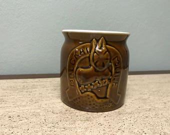 Molokai Mule Ceramic Sheraton Suvenir Mug - Daga Hawaii