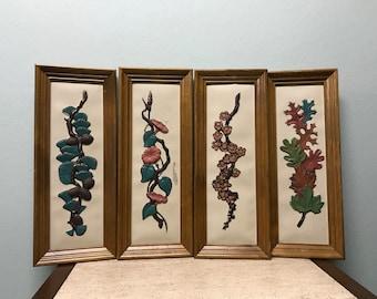 Mid Century Ideal Originals Wall Decor - Set of 4