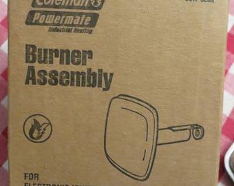 Vintage Coleman Powermate Part 5017-620R Burner ASSY HTR w/ free ship