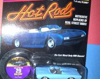 Hot Rods Street Rods 1963 Ford T-Bird Bad Bird by Johnny Lightning new on card