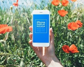 iPhone / Phone / Smartphone Outdoor Mockups