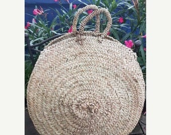 February Sale Small round french basket