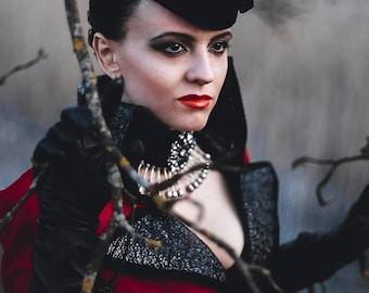 Regina Mills Evil Queen Cosplay Costume