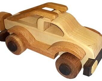 Handmade Wooden Car (Pickup)