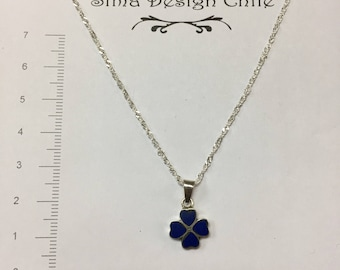 Lapis #1 silver pendant