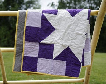 Wish Upon A Star Baby Quilt