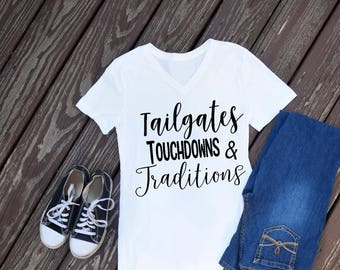 Tailgates, Touchdowns & Traditions T-Shirt