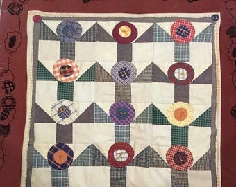 PRE-SUMMERSALE A Country Quilt Garden by Cheri
