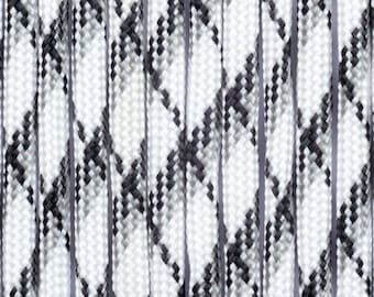 """white camouflage"" Paracord 4mm 30meters"
