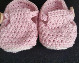 Handmade Crochet Baby Shoe like Booties