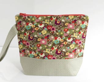 Small Project Bag Floral Glitz