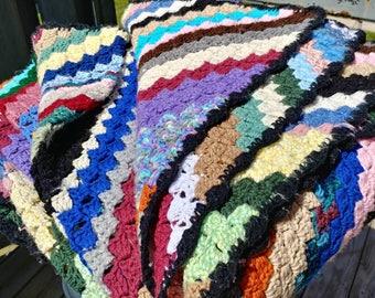 Queen Size Crochet Blanket