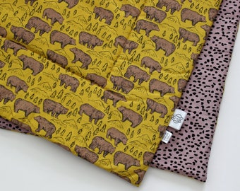 Baby Blanket - grizzly bear