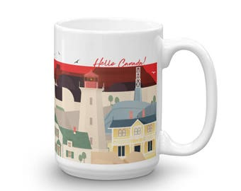 IconOTecture Mug | Hello Canada