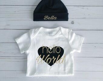 Hello World - Black