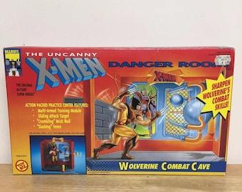 Toy Biz Marvel X-Men Danger Room Wolverine Combat Cave, Brand New Sealed, 1991!