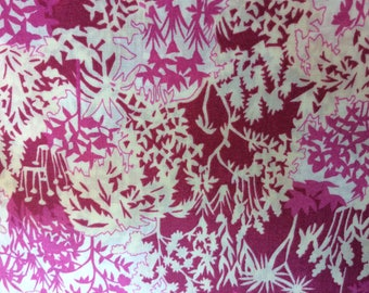 Tana lawn fabric from Liberty if London, Paper Garden