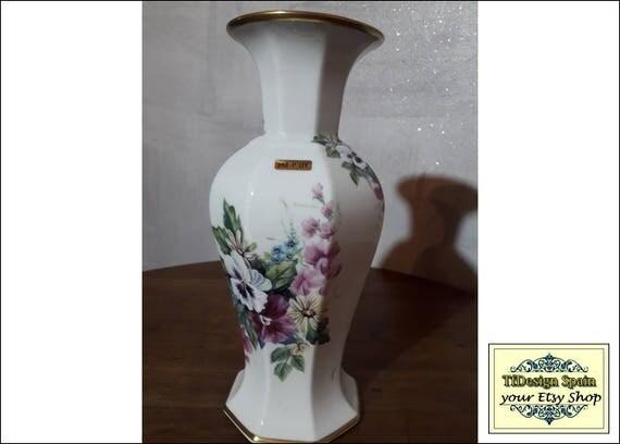 Porcelain Vase White,  Porcelain vase flowers, Porcelain vase design, Porcelain vase Etsy, Porcelain vase gift, Vintage porcelain vase 26 cm