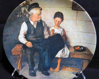 Norman Rockwell, 1979, The Lighthouse Keeper's Daughter, Heritage Collection