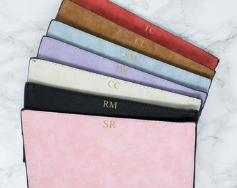Women's Monogram Purses, Women's Initial Purses, Ladies Bags and Purses, Bridesmaid Bag, Personalised Christmas Gifts, Custom Wedding Gifts