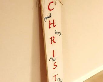 Merry Christmas wood art