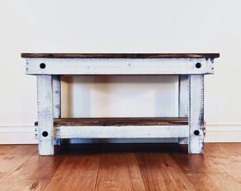 Rustic Bench 36x11.25x18
