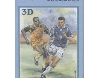 Book sheets of 24 Mini 3D collage, decoupage SPORTS designs