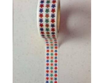 Washi Tape Masking Tape tape adhesive scrapbooking star