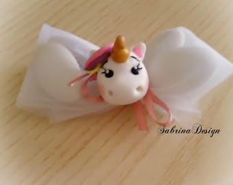 Unicorn favors, baptism favors, baby shower favors, birthday unicorn, unicorn party favors, communion favors, polymer clay favors