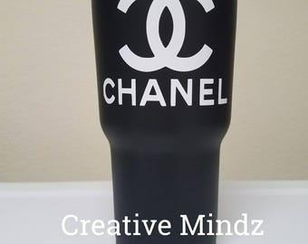 Chanel Custom Powder Coated Tumbler