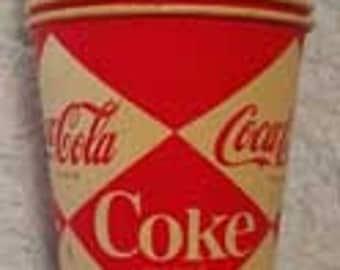 Vintage Coca Cola Cups