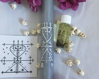 Maman Brigitte Hoodoo Oil + Candle