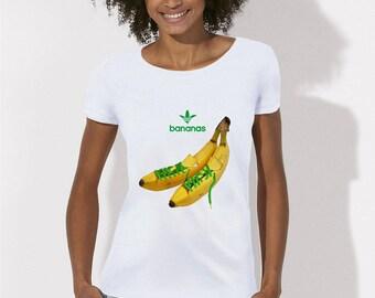 bananas women t shirt
