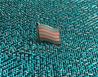 Trans Pride Flag Enamel Pin