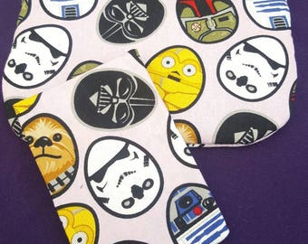 Star wars easter cosmetic bag with tissue holder